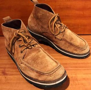 "【USED】COLE HAAN ""NIKE AIR"" スエード 4hole ブーツ US 9 M 27cm 相応 茶"