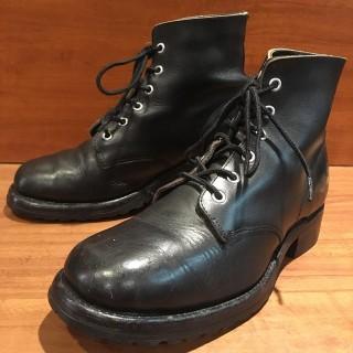 【USED】USED FRYE / フライ 編み上げブーツ 25-25.5cm相応 BLK