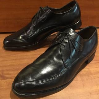 【美USED】Winthrop / ウィンスロップ by International Shoe Co Uチップ US 10 1/2 D 28.5cm相応 BLK