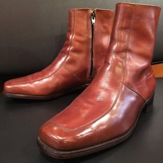 【USED】70s Florsheim / フローシャイム サイドジップブーツ US 9 1/2 C 27-27.5cm相応 BRN