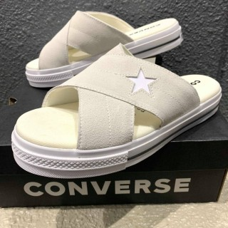 【未使用品/箱付】CONVERSE ONE STAR シャワーサンダル size メンズ 26cm相応 WHT